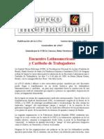 Correo Internacional (Noviembre 2007 - ELACT)