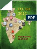 IITJEE 2012 Brochure