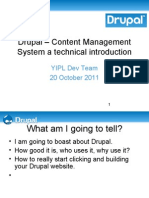 Drupal Introduction (Technical)
