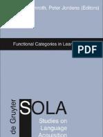Dimroth_09_Functional Categories in Learner Language