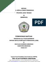 Proposal Pengadaan Alat Marching Band_Ke Yayasan 2011