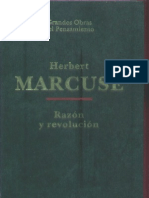 Herbert Marcuse - Razon y Revolucion