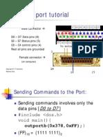 Parallel Port Tut