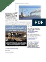 Israel's Three September Terror Attacks on America - 2001, 2008, 2011