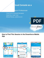 Service Cloud Console as a Platform