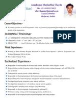 Developer CV Axay
