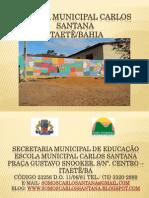 Seminário de Andaraí - Projeto Chapada