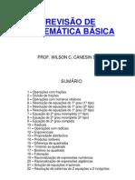 REVISÃO DE MATEMÁTICA BÁSICA