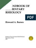 Barnes Handbook of Elementary Rheology