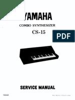 Analoghell.com YamahaCS15 Service Manual