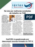 Volante TAM/GOL/VRG