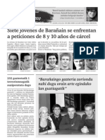 Epaiketa politikorik ez aldizkaria, Barañain