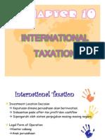 New International Taxation & Transfer Pricing
