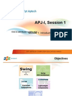 Session1 Module1 Intro to Swing