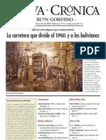 nueva_cronica_93 - La Carretera que divide al TIPNIS y a los bolivianos...