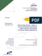 PR 13400 IPD 040531 v10 Sensor Data Sheets