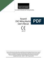 Novamill Vr Manual 2