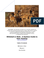 Whitetail or Mule - A Hunters Guide to Deer Hunting