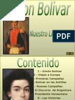 Alvares e Hidalgo Simon Bolivar
