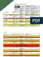 Final Draft - English 097 Course Calendar - Students