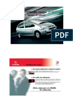Xsara Picasso Manual Usuario - Esp
