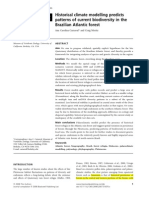 Atlantic Forest Biodiversity by Climate Model - Carnaval & Moritz (2008)