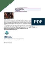 PWM Newsletter 10312011