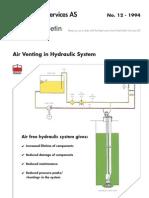 12-Air Venting in Hydraulic System