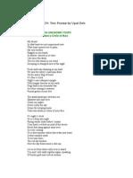 Poems by Upal Deb on BINAYAK SEN