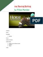 Horse Racing Concurso