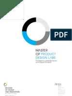 Programa Master of Product Design Labs 2011 IEDMadrid[1]