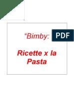 Bimby Pasta Ricettario