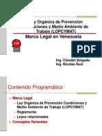 Lopcymat Marco Legal en Venezuela