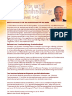 Einladung Quantenheilung Matrix Transformation 1+2 Seminarbeschreibung