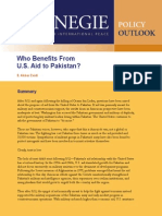 Who Benefits from U.S. Aid to Pakistan?