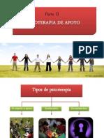 PSICOTERAPIAS DE APOYO