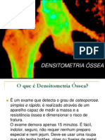 DENSITOMETRIA ÓSSEA-SLIDES