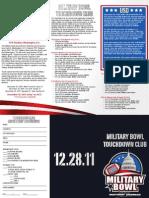 Touchdown Club Brochure