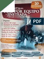 Fiesta Del Pial Por Equipo y Jineteada