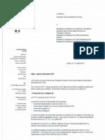 Régime indemnitaire 2011