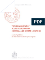 Neurotrauma Rural Guidelines 2Ed