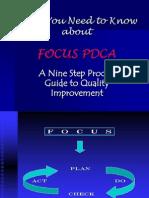 FOCUS PDCA Presentation