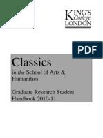 Classics PGR 2010 11