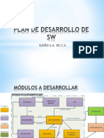 Plan de Desarrollo de Sw