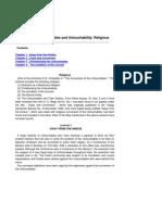 Essays on Untouchables and Untouchabilit1