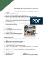 Barron Model Test 2 Glossary