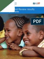 DFID - Where We Will Do Work