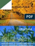 TALLER DE SEXUALIDAD PARA PADRES
