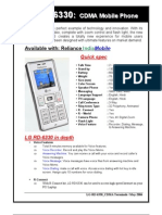 Product Note RD6330
