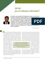 FIEL - Mondino, Guillermo - Deuda vs Reservas Son 30000 Millones Suficientes [Setiembre 2006]